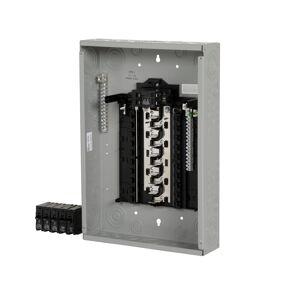 Siemens SN Series 100 amps 120/240 volt 20 space 20 circuits Combination Mount Circuit Breaker Pa