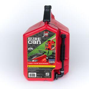 SureCan Child Proof Cap Plastic Gas Can 5 gal.