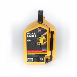 SureCan Child Proof Cap Plastic Diesel Can 5 gal.