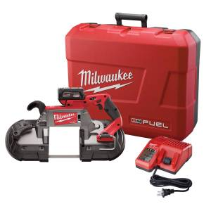Milwaukee M18 FUEL 18 volt Cordless Deep Cut Band Saw Kit (Battery & Charger)