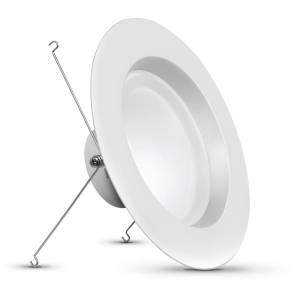 Feit Electric White 4 in. W Aluminum LED Dimmable Recessed Downlight 75 watt