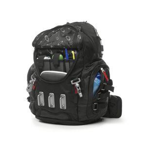 Oakley Kitchen Sink Nylon/Polyester Black Backpack 20 in. H x 14 in. W x 8 in. D