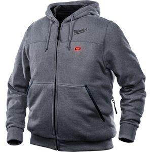 Milwaukee M12 M Long Sleeve Unisex Full-Zip Heated Hoodie Kit Gray