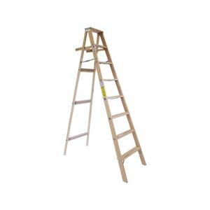 Michigan Ladder 96 in. H Wood Step Ladder Type II 225 lb.