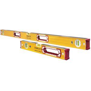 Stabila Aluminum Type 196 Box Beam Level Set 3 vial