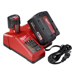 Milwaukee M18/M12 18 volt Lithium-Ion Wall Battery Charger 1 pc.