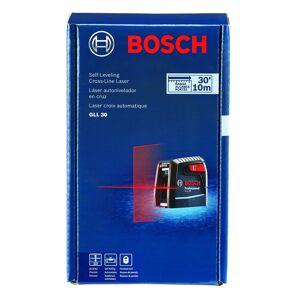 Bosch 2 beam Self Leveling Cross Line Laser 30 ft. 4 pc.