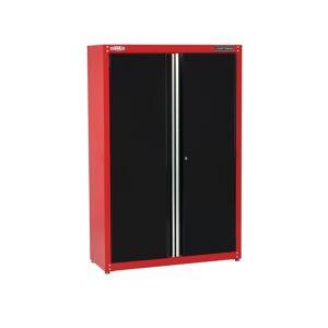 Craftsman 74 in. H x 48 in. W x 18 in. D Black/Red Steel Storage Cabinet