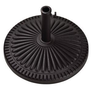 Bond Black Envirostone Umbrella Base 21.5 in. L x 21.5 in. W x 13.18 in. H