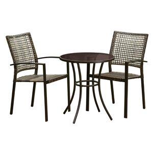 Living Accents Wynn Brown Steel Frame Chair
