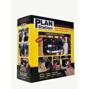 Plan Station 24 in. L x 48 in. W x 24 in. H Workstation