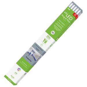 FEIT Electric Plug and Play T8 Cool White 48 in. G13 (Medium Bi-Pin) Linear LED Bulb 32 Watt