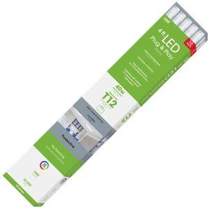 FEIT Electric Plug and Play T12 Cool White 48 in. G13 (Medium Bi-Pin) Linear LED Bulb 40 Watt