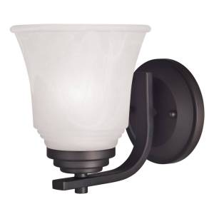 Westinghouse 1 Oil Rubbed Bronze Bronze Wall Sconce