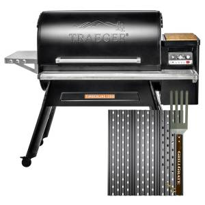 GrillGrate For Traeger Timberline and other 15 Grills Sear Station Grill Grate Kit 15 in. L x 15.