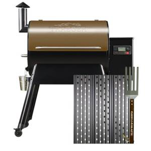 GrillGrate For Traeger Pro Series Sear Station Grill Grate Kit 18.5 in. L x 15.38 in. W