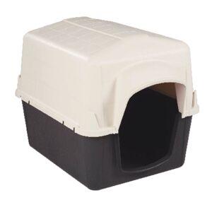 Aspen Pet Petbarn Medium Plastic Dog House 26 in. H x 24 in. W x 32 in. D