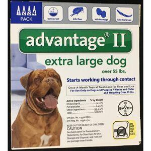 Bayer Advantage II Liquid Dog Flea Drops 0.54 oz.