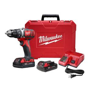 Milwaukee 18 volt 1/2 in. Brushed Cordless Compact Drill Kit (Battery & Charger)