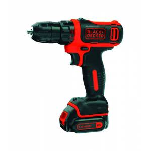 Black and Decker 12 volt 3/8 in. Brushed Cordless Drill Kit (Battery & Charger)