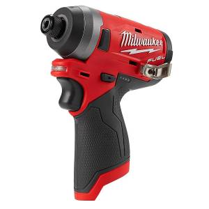 Milwaukee M12 FUEL 12 volt 1/4 in. Cordless Brushless Impact Driver Tool Only
