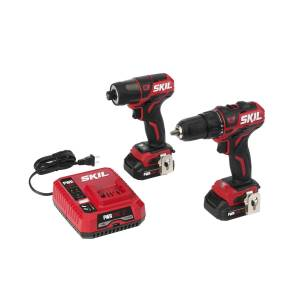 Skil PWRCore 12 12 volt Cordless Brushless 2 tool Drill and Driver Kit