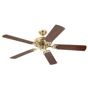 Westinghouse Contractor's Choice 52 in. Polished Brass Indoor Ceiling Fan
