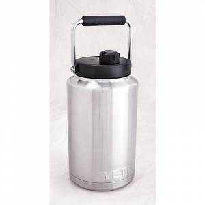 YETI Rambler 0.5 gal. Stainless BPA Free Insulated Jug