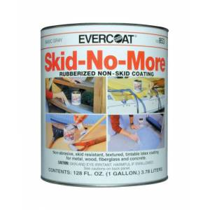 Evercoat Skid-No-More Gray Non-Skid Coating 1 gal.