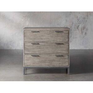 Arhaus Palmer 3 Drawer Dresser in Stone on Ash