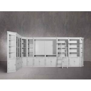 Arhaus Athens Grand Wall Unit in Nimbus
