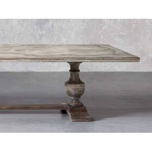 """Arhaus Roma 95"""" Rectangle Bell'Arte Dining Table"""