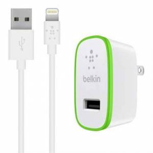 Belkin BOOST↑UP™ 12W USB-A Wall Charger + Lightning to USB-A Cable