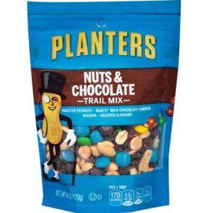 Kraft - Planters Wholesale Planters Nut & Chocolate Trail Mix 6 Oz(12x$3.63)
