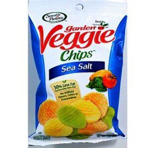Sensible Portions Wholesale Sensible Portions Garden Veggie Chips- Sea Salt(48x$1.01)
