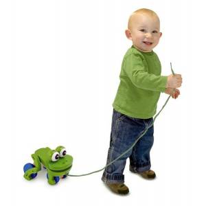 Melissa & Doug Wholesale Melissa & Doug Frolicking Frog Pull Toy(12x$15.81)
