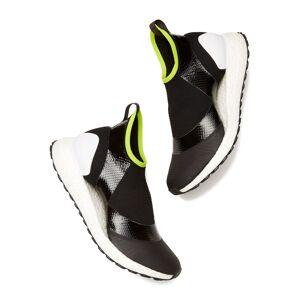 Adidas by Stella McCartney Ultraboost X Atr Sneakers in Core Black/Ftwr White/Solar Slime, Size 10.5  - Core Black/Ftwr White/Solar Slime - Size: 10.5