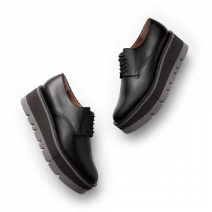 Clergerie Bradie Loafers in Black, Size 6.5  - Black - Size: 6.5