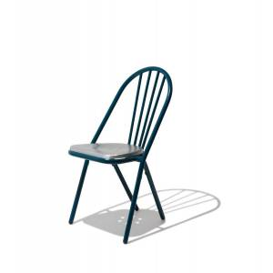 Industry West Surpil Dining Chair White/Aluminum