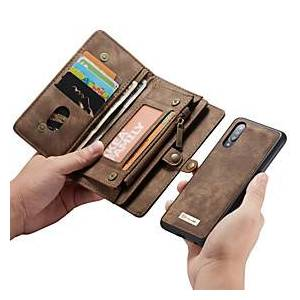 Samsung CaseMe Multifunctional Luxury Business Leather Magnetic Flip Case For Samsung Galaxy A52 A72 A90 A80 A70 A50 A40 A30 A20e With Wallet Card Slot Stand 2-in-1 De