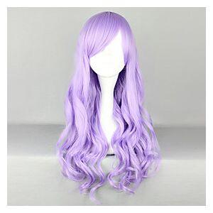 Sweet Lolita Cosplay Wigs Women's 28 inch Heat Resistant Fiber Anime Wig