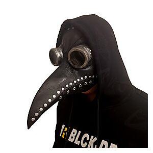 Plague Doctor Retro Vintage Punk  Gothic Steampunk 17th Century Mask Masquerade Women's Men's Costume Mask Gray  Black / Black / Brown Vintage Cosplay Party Ha