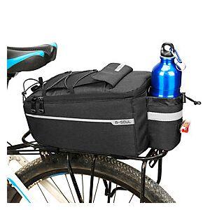 B-SOUL 6.5 L Bike Rack Bag Multifunctional Large Capacity Waterproof Bike Bag 600D Polyester Bicycle Bag Cycle Bag Cycling Road Bike Mountain Bike MTB Outdoor