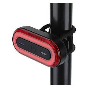 bike tail light usb rechargeable, seven colors cycle flash bicycle rear light bicycle accessories, 60 hours runtime, ipx5 waterproof cycling safety light for a