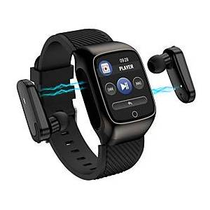 HS300 Smartwatch with Wireless Earbuds Support Bluetooth Play Music,  Activity Tracker for Android/ IOS Phones