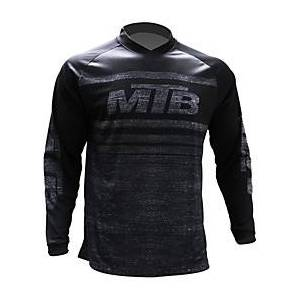 21Grams Men's Long Sleeve Cycling Jersey Downhill Jersey Dirt Bike Jersey Spandex Black Stripes Solid Color Bike Jersey Top Mountain Bike MTB Road Bike Cycling