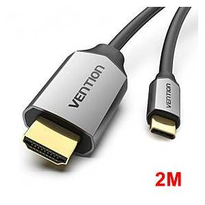 USB C HDMI Cable 4K 60Hz HDMI Type c to HDMI 2.0 for MacBook Samsung Galaxy S10/S9 Huawei Mate 20 P20 Pro Thunderbolt 3 Adapter 2M