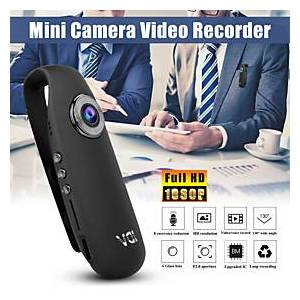 HD 1080P 130 Mini Camcorder Dash Cam Police Body Motorcycle Bike Motion Camera Battery 560mAh Support 128G Micro SD Card