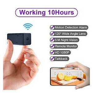 WD9 Portable WiFi IP Mini Camera P2P Night Vision Wireless Micro Camcorder Video Recorder Support Remote View on Phone