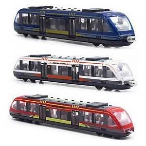Toy Trains  Train Sets Train Metal Alloy Child's Teenager All Boys' Girls' Toy Gift 3 pcs